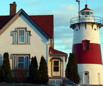 Scenic photo of Connecticut Home and Lighthouse