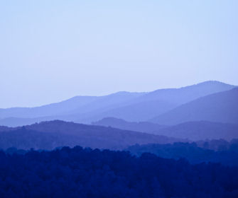 View of the Blue Ridge Mountains, Canton, GA is located in the foothills of these mountains