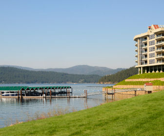 Lake Coeur d'Alene in the Idaho panhandle