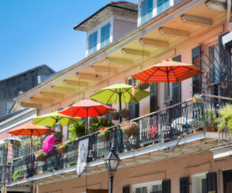 Balcony in New Orleans, Louisiana