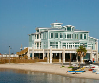 Yacht Club in Gulfport, Mississippi