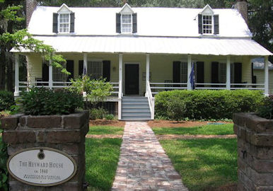 The Heyward House Historic Center in Bluffton, SC photo courtesy of The Heyward House Historic Center facebook page