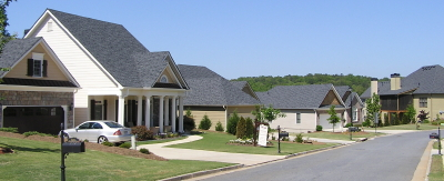 Homes in Mountain View Subdivision