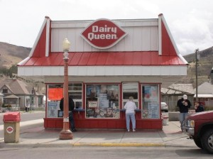 dairy queen in small town