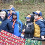 cub scouts in parage