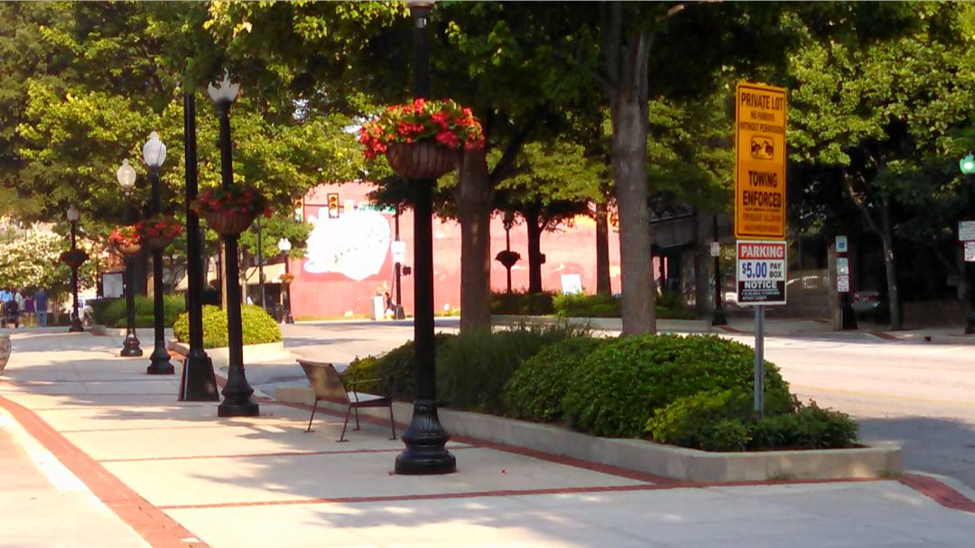 Main Street Greenville SC